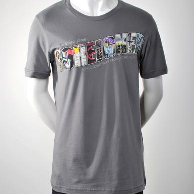 Grey Greetings From Foreigner T-Shirt