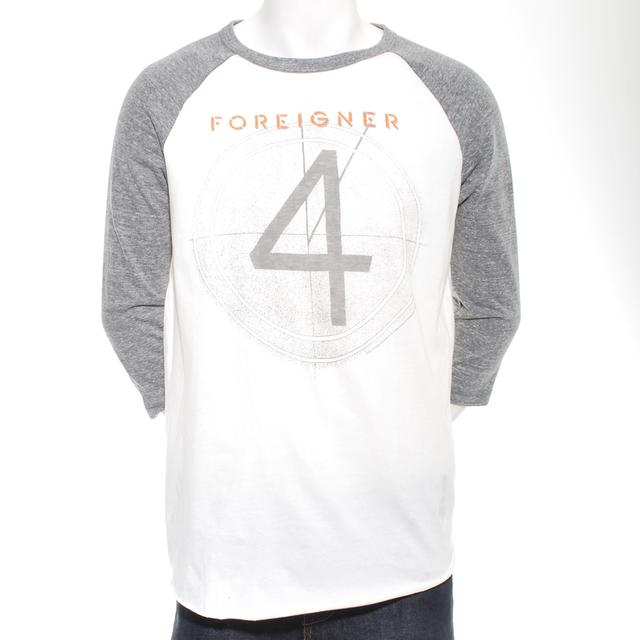 Foreigner Four Faded Raglan T-Shirt
