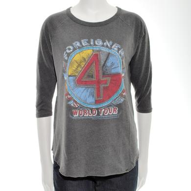 Foreigner 4 Flags World Tour T-Shirt