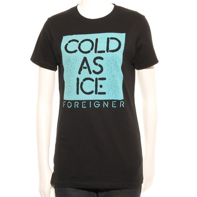 Foreigner Women's Cold As Aqua T-Shirt