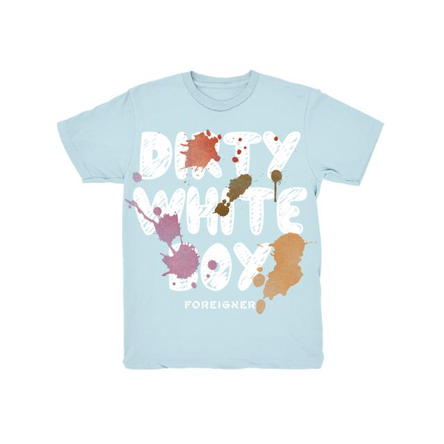 Foreigner Blue Dirty White Boy Youth T-Shirt