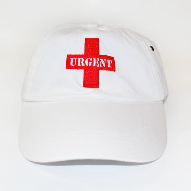 Foreigner White Urgent Hat