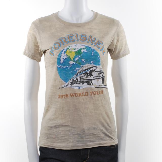 Foreigner Women's '78 World Tour T-Shirt