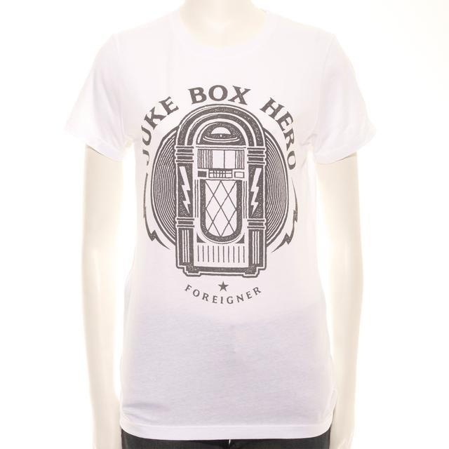 Foreigner Juniors Juke Box Hero T-Shirt