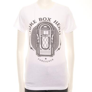 Foreigner Juniors Juke Box Hero T-Shirt