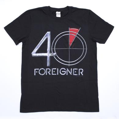 Foreigner 40 Logo 2016 Tour T-Shirt
