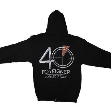 Foreigner 40 Logo Hoodie