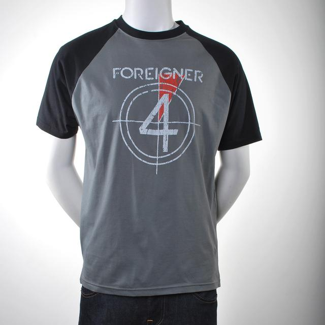 Foreigner Four Raglan Shirt
