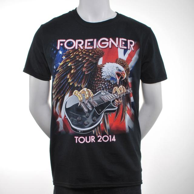 Foreigner Eagle 2014 Tour T-Shirt