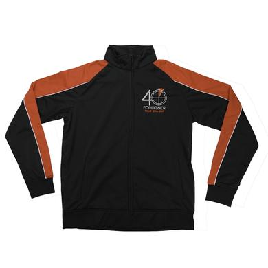 Foreigner 40th Anniversary Zip-Up Track Jacket