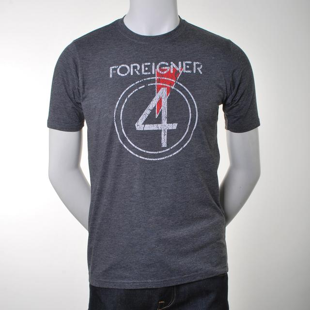 Foreigner Four Logo T-Shirt