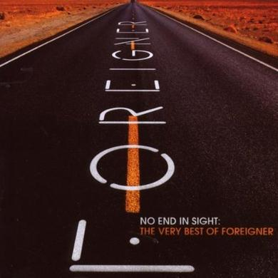 Foreigner No End In Sight CD