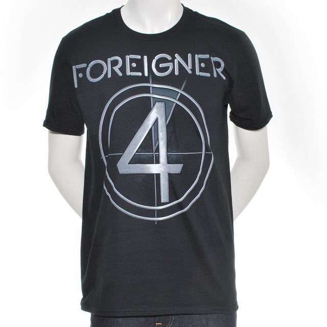 Foreigner Logo Tour T-Shirt