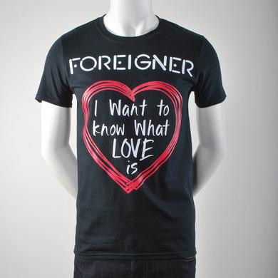 Foreigner I Want To Know What Love Is T-Shirt
