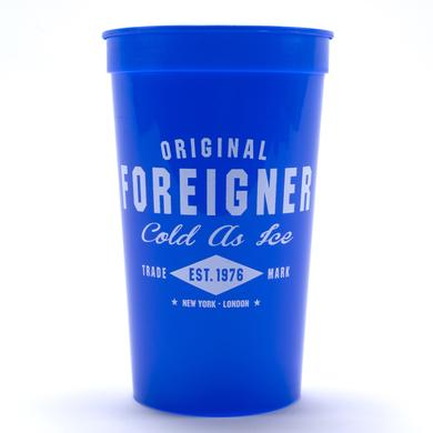 Foreigner Cold As Ice Plastic Beer Cup