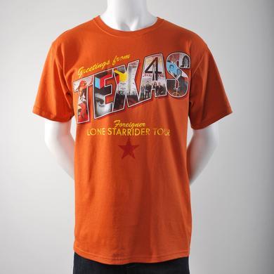Foreigner Texas Tour T-Shirt