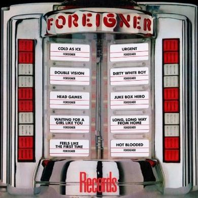 Foreigner Records:  Greatest Hits LP