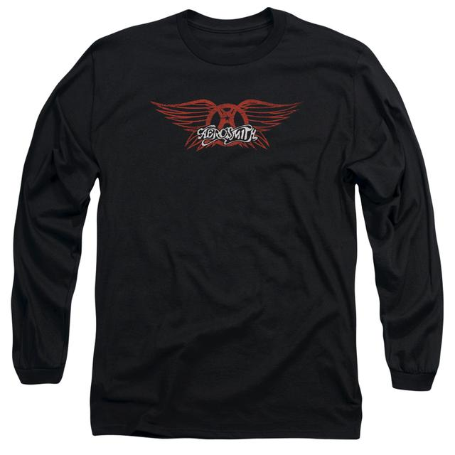 Aerosmith T Shirt | WINGED LOGO Premium Tee