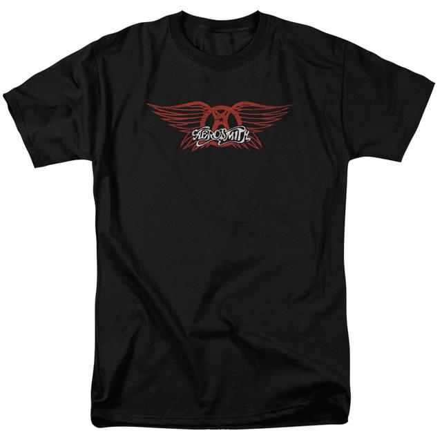 Aerosmith Shirt | WINGED LOGO T Shirt
