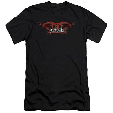 Aerosmith Slim-Fit Shirt | WINGED LOGO Slim-Fit Tee