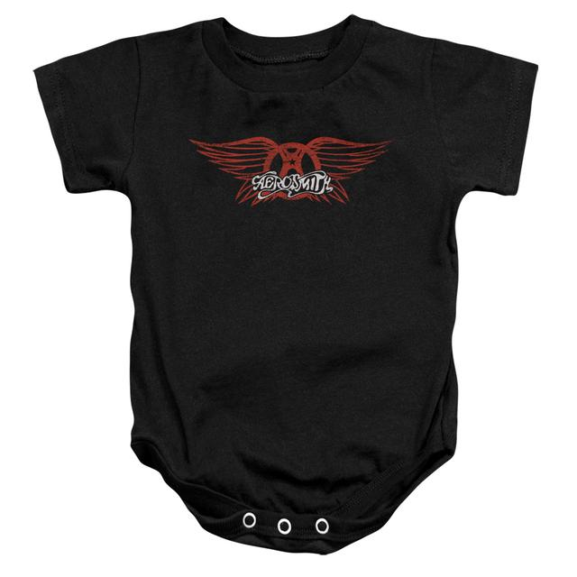 Aerosmith Baby Onesie | WINGED LOGO Infant Snapsuit