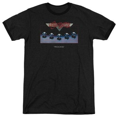 Aerosmith Shirt | ROCKS Premium Ringer Tee