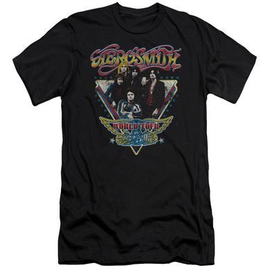 Aerosmith Slim-Fit Shirt | TRIANGLE STARS Slim-Fit Tee
