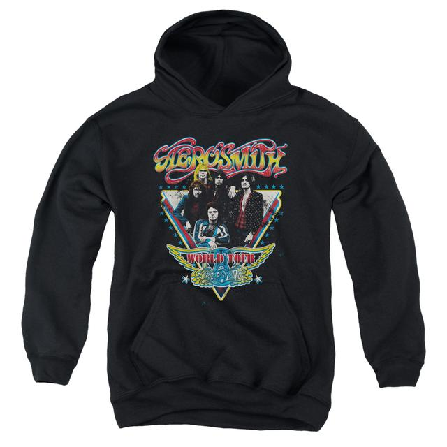 Aerosmith Youth Hoodie | TRIANGLE STARS Pull-Over Sweatshirt