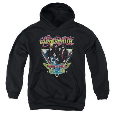 Aerosmith Youth Hoodie | TRIANGLE STARS Pull-Over Sweatshirt