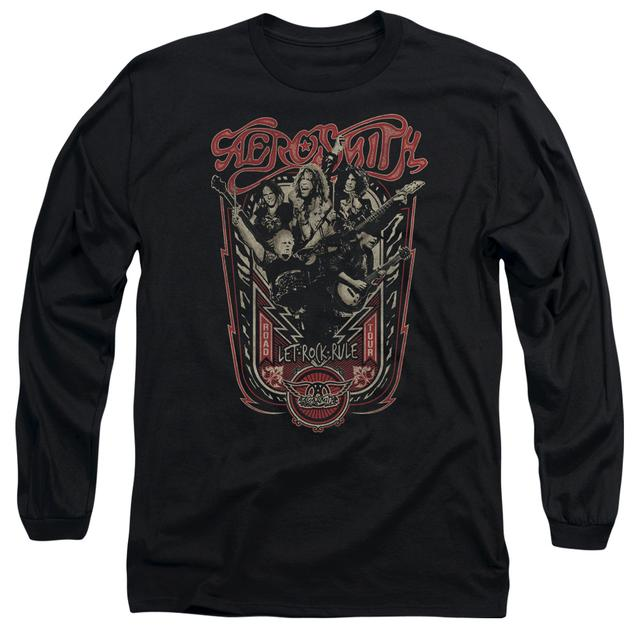 Aerosmith T Shirt | LET ROCK RULE Premium Tee
