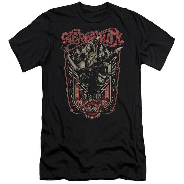 Aerosmith Slim-Fit Shirt | LET ROCK RULE Slim-Fit Tee
