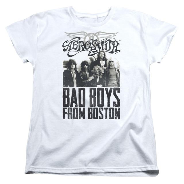 Aerosmith Women's Shirt | BAD BOYS Ladies Tee