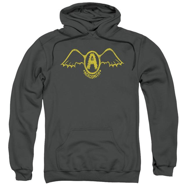 Aerosmith Hoodie | RETRO LOGO Pull-Over Sweatshirt
