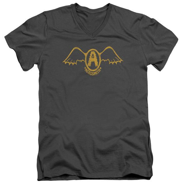 Aerosmith T Shirt (Slim Fit)   RETRO LOGO Slim-fit Tee