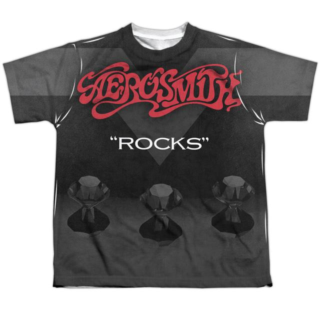 Aerosmith Youth Shirt | ROCKS Sublimated Tee