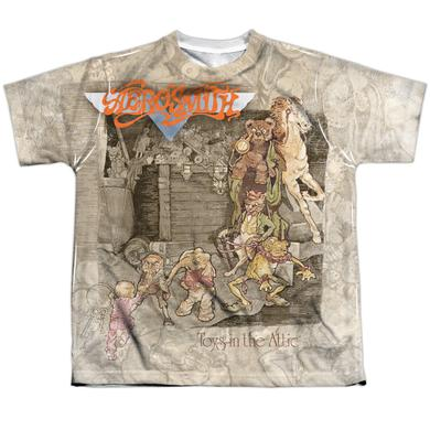 Aerosmith Youth Shirt | TOYS IN THE ATTIC Sublimated Tee