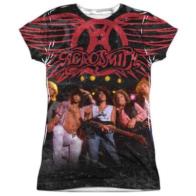 Aerosmith Junior's T Shirt   STAGE Sublimated Tee