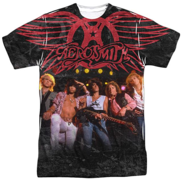 Aerosmith Shirt | STAGE (FRONT/BACK PRINT) Tee