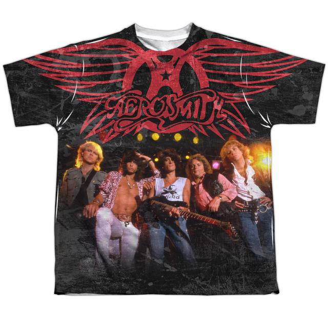 Aerosmith Youth Shirt | STAGE (FRONT/BACK PRINT) Sublimated Tee