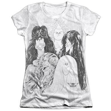 Aerosmith Junior's Shirt   LINES Junior's Tee