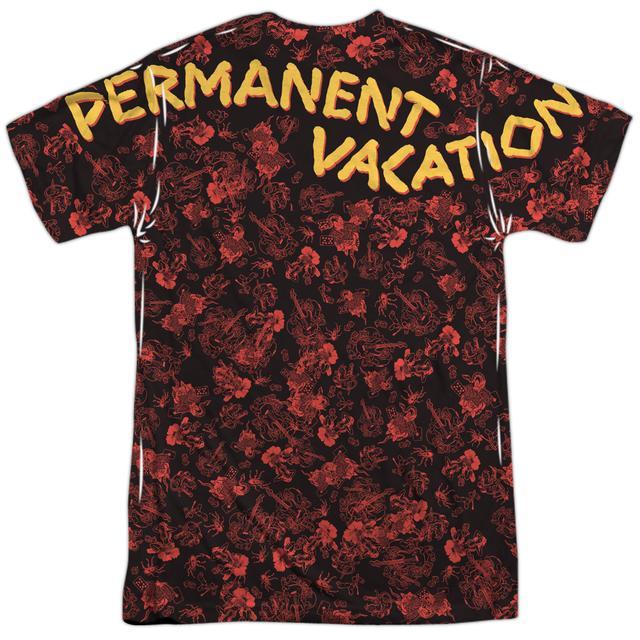 Aerosmith Shirt | VACATION (FRONT/BACK PRINT) Tee