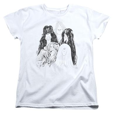 Aerosmith Women's Shirt | DRAW THE LINE Ladies Tee