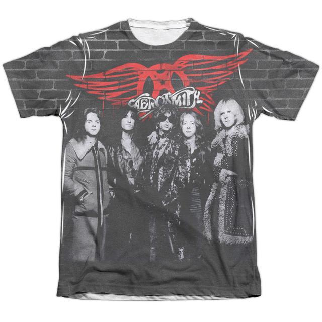 Aerosmith Shirt   BRICK PAINT Tee