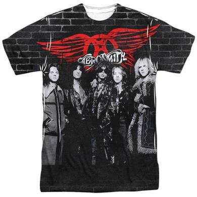 Aerosmith Shirt | BRICK PAINT (FRONT/BACK PRINT) Tee