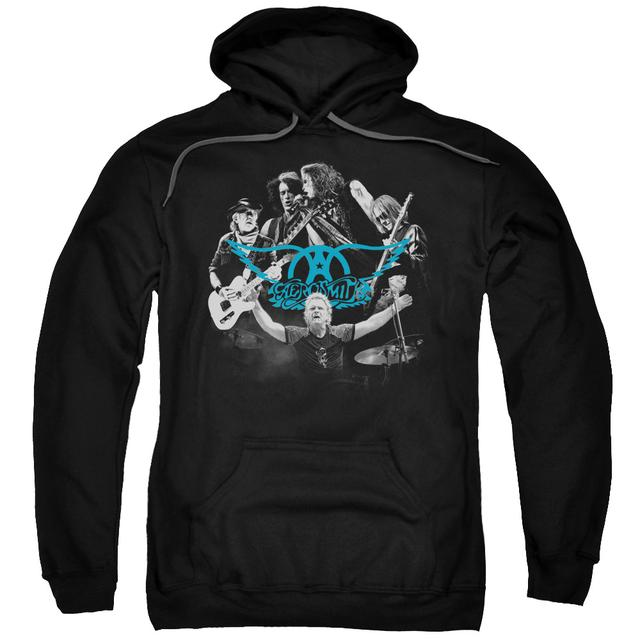 Aerosmith Hoodie | ROCK N ROUND Pull-Over Sweatshirt