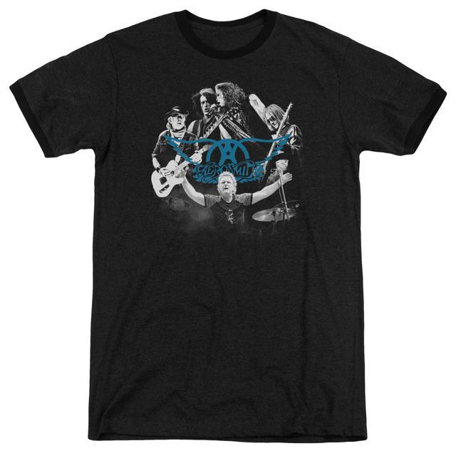 Aerosmith Shirt | ROCK N ROUND Premium Ringer Tee