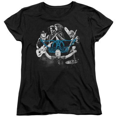 Aerosmith Women's Shirt | ROCK N ROUND Ladies Tee