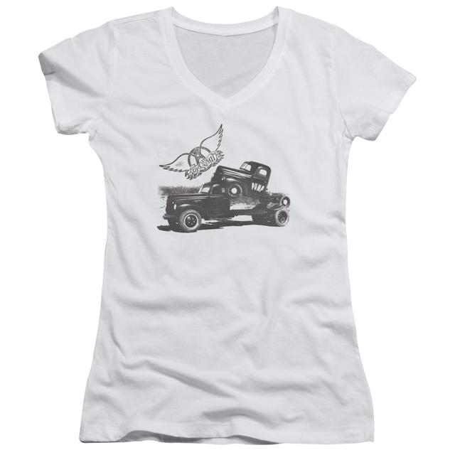 Aerosmith Junior's V-Neck Shirt | PUMP Junior's Tee