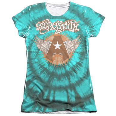 Aerosmith Junior's Shirt | TIE DYE Junior's Tee