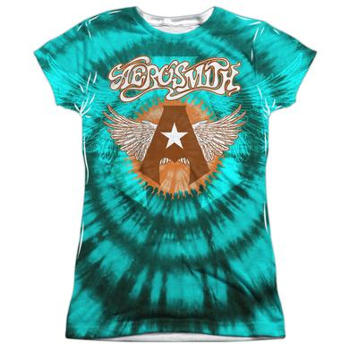 Aerosmith Junior's T Shirt | TIE DYE Sublimated Tee